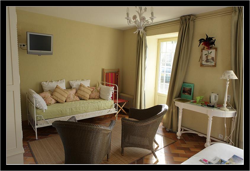 Chambre vue sur coeur chambres d 39 h tes le vieux logis - Chambre d hote saint donat sur l herbasse ...